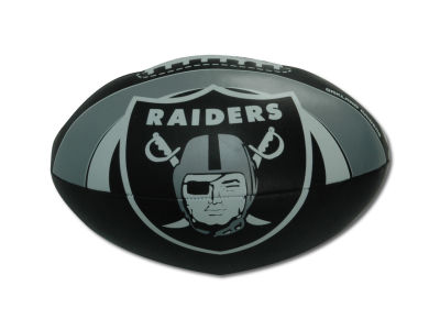 Oakland Raiders Softee Goaline Football 8inch