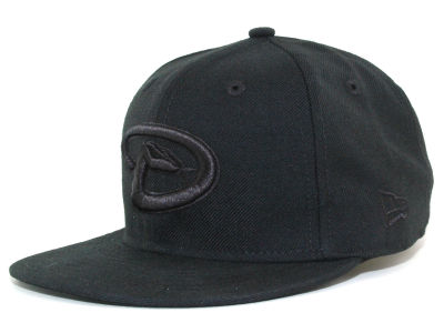 Arizona Diamondbacks New Era MLB Black on Black Fashion 59FIFTY Cap