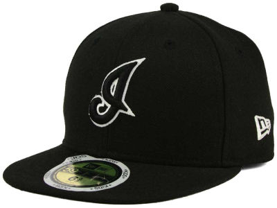 Cleveland Indians New Era MLB Black and White Fashion 59FIFTY Cap