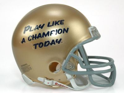 Notre Dame Fighting Irish NCAA Mini Helmet