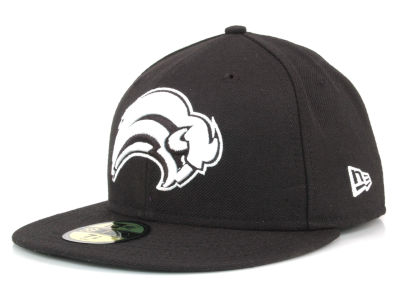 Buffalo Sabres New Era NHL Black and White 59FIFTY Cap