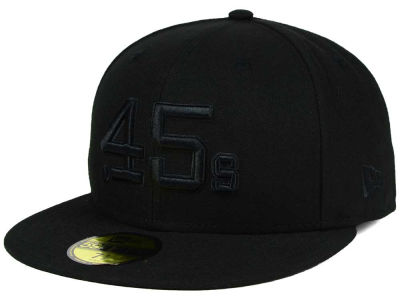 Houston Colt 45s New Era MLB Black on Black Fashion 59FIFTY Cap
