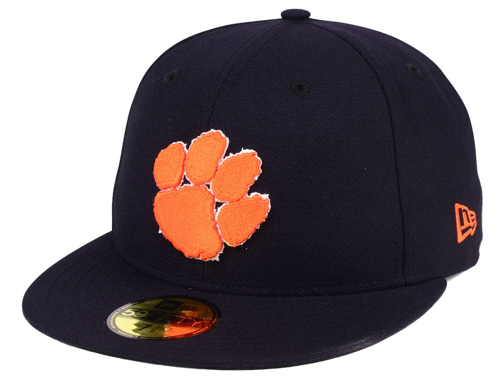 Clemson Tigers New Era NCAA AC 59FIFTY Cap  2d213bcfb6bd