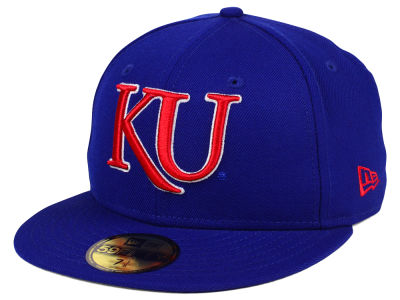 Kansas Jayhawks New Era NCAA AC 59FIFTY Cap