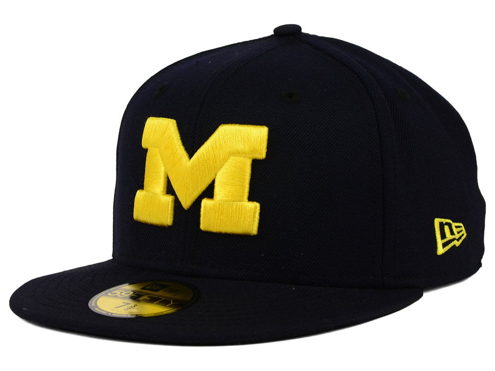 Michigan Wolverines New Era NCAA AC 59FIFTY Cap  be90b83d992