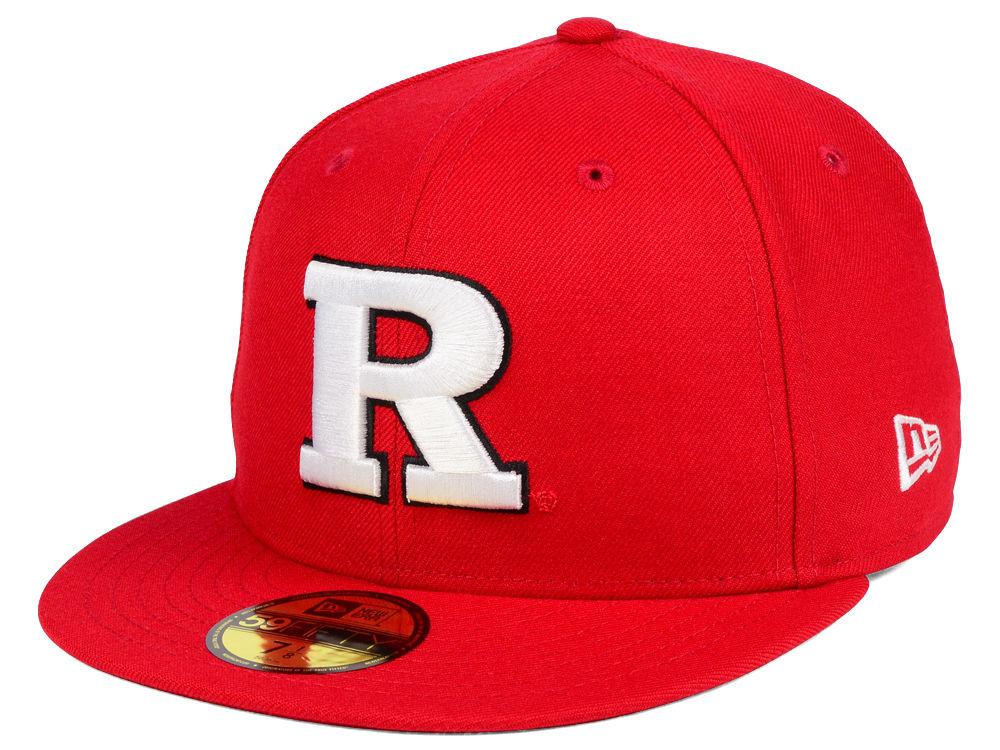 Rutgers Scarlet Knights New Era NCAA AC 59FIFTY Cap  5cc22c0c3d3