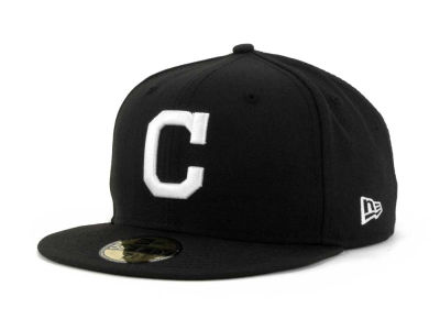 Cleveland Indians New Era MLB B-Dub 59FIFTY Cap