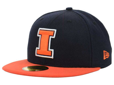 Illinois Fighting Illini New Era NCAA 2 Tone 59FIFTY Cap