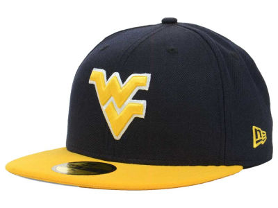 West Virginia Mountaineers New Era NCAA 2 Tone 59FIFTY Cap