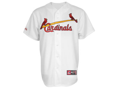St. Louis Cardinals Majestic MLB Men's Blank Replica Cool Base Big & Tall Jersey