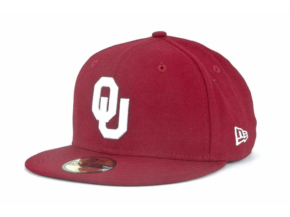 wholesale dealer 3b442 f64a9 ... inexpensive oklahoma sooners new era ncaa ac 59fifty cap 14f87 a75cb ...
