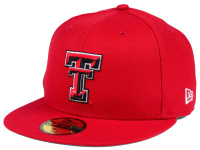 Texas Tech Red Raiders New Era NCAA AC 59FIFTY Cap