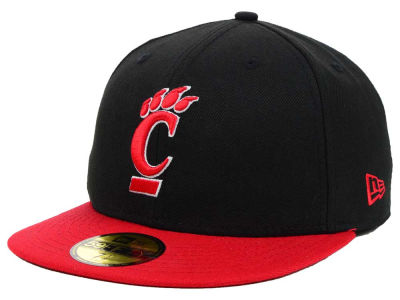 Cincinnati Bearcats New Era NCAA 2 Tone 59FIFTY Cap