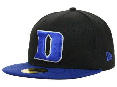 Duke Blue Devils New Era NCAA 2 Tone 59FIFTY Cap