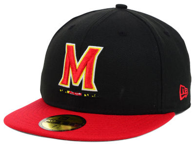 Maryland Terrapins New Era NCAA 2 Tone 59FIFTY Cap