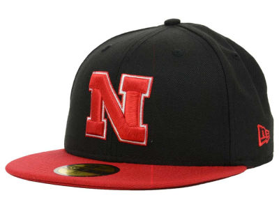 Nebraska Cornhuskers New Era NCAA 2 Tone 59FIFTY Cap