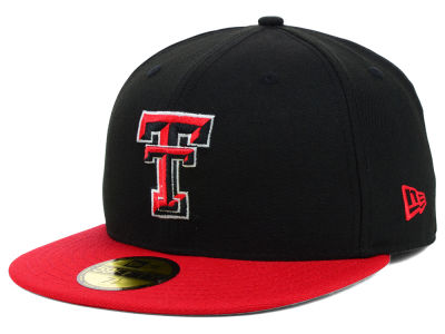 Texas Tech Red Raiders New Era NCAA 2 Tone 59FIFTY Cap