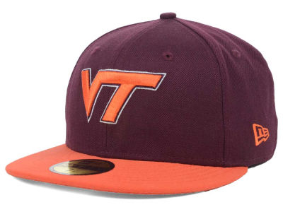 Virginia Tech Hokies New Era NCAA 2 Tone 59FIFTY Cap