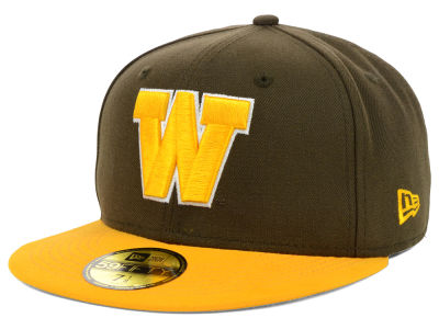 Wyoming Cowboys New Era NCAA 2 Tone 59FIFTY Cap