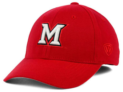 Miami (Ohio) Redhawks Top of the World NCAA Team Color PC Cap