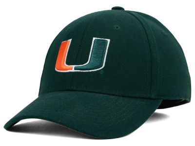 Miami Hurricanes Top of the World NCAA Team Color PC Cap