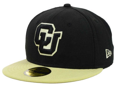 Colorado Buffaloes New Era NCAA 2 Tone 59FIFTY Cap