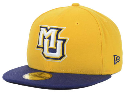Marquette Golden Eagles New Era NCAA 2 Tone 59FIFTY Cap