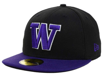 Washington Huskies New Era NCAA 2 Tone 59FIFTY Cap