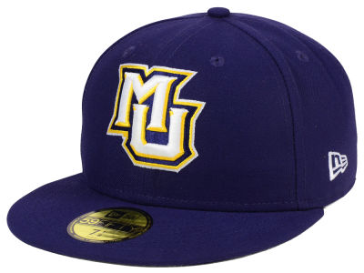 Marquette Golden Eagles New Era NCAA AC 59FIFTY Cap