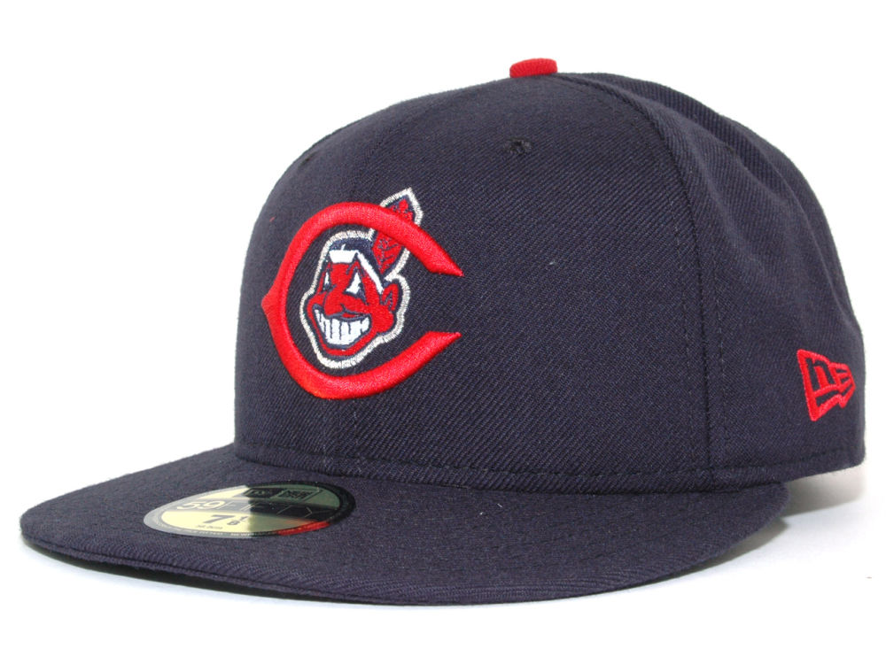 brand new 6318b 5a245 ... sweden cleveland indians new era mlb cooperstown 59fifty cap 25502 7aceb