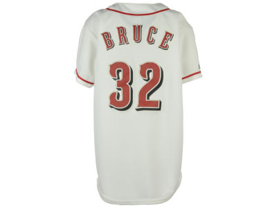Cincinnati Reds Jay Bruce Majestic MLB OLD Youth Player Replica Jersey