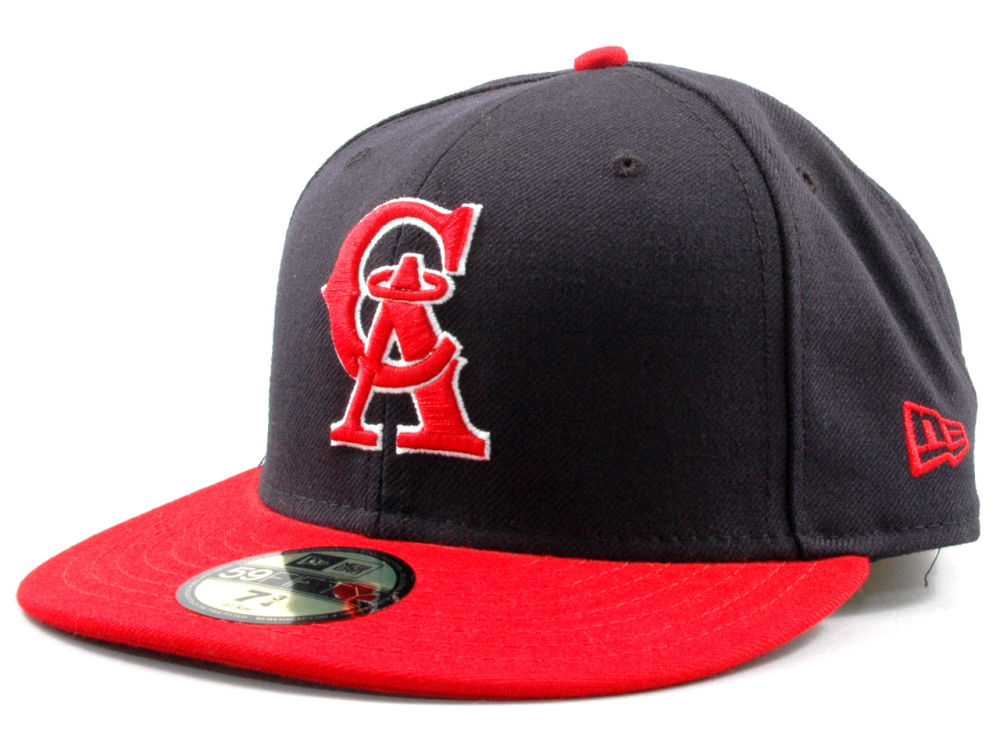 Los Angeles Angels New Era MLB Cooperstown 59FIFTY Cap  838a18d549d3