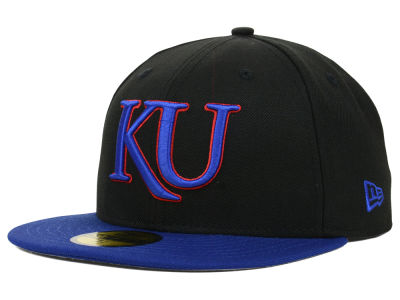 Kansas Jayhawks New Era NCAA 2 Tone 59FIFTY Cap