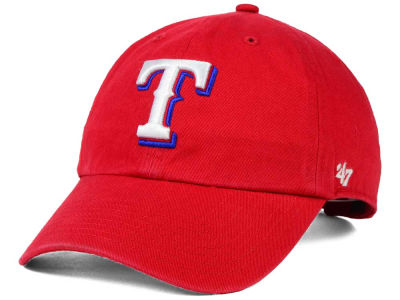 Texas Rangers '47 MLB On-Field Replica '47 CLEAN UP Cap