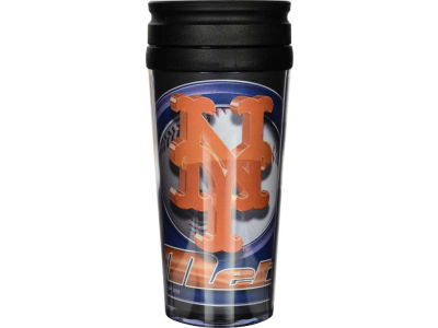 New York Mets 16oz Travel Tumbler