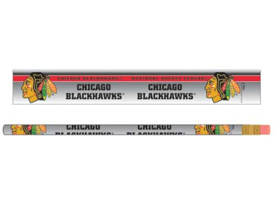 Chicago Blackhawks 6-pack Pencils