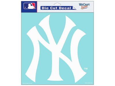 "New York Yankees Die Cut Decal 8""x8"""