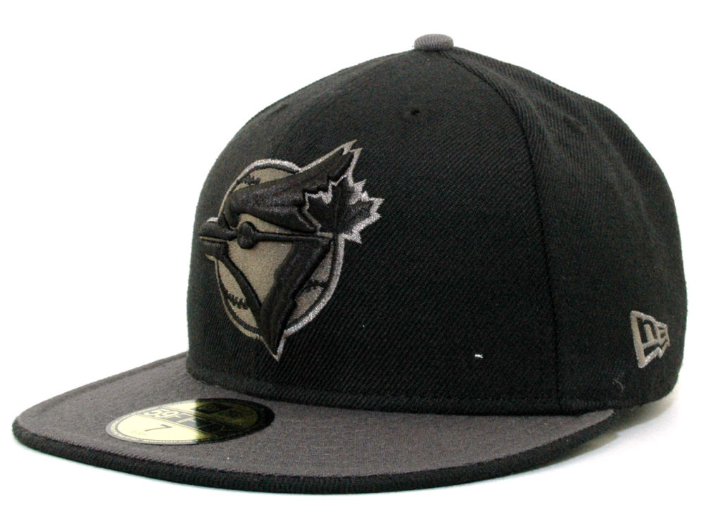 Toronto Blue Jays New Era MLB Graphite 59FIFTY Cap  748fc893a5cd