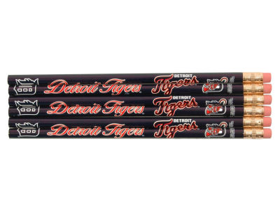 Detroit Tigers 6-pack Pencils