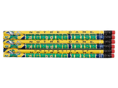 Notre Dame Fighting Irish 6-pack Pencils