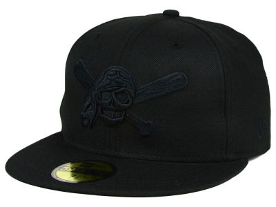 Pittsburgh Pirates New Era MLB Triple Black 59FIFTY Cap
