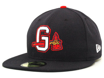 Gwinnett Braves Gwinnette Braves New Era MiLB AC 59FIFTY Cap