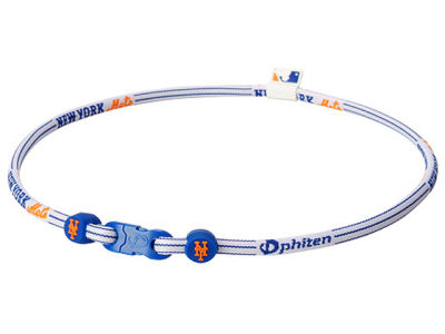 New York Mets Phiten MLB X30 Necklace