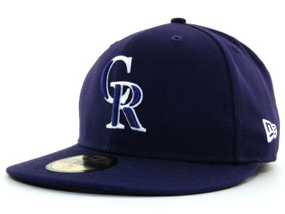 Colorado Rockies New Era MLB C-Dub 59FIFTY Cap