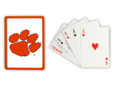 Clemson Tigers Playing Cards