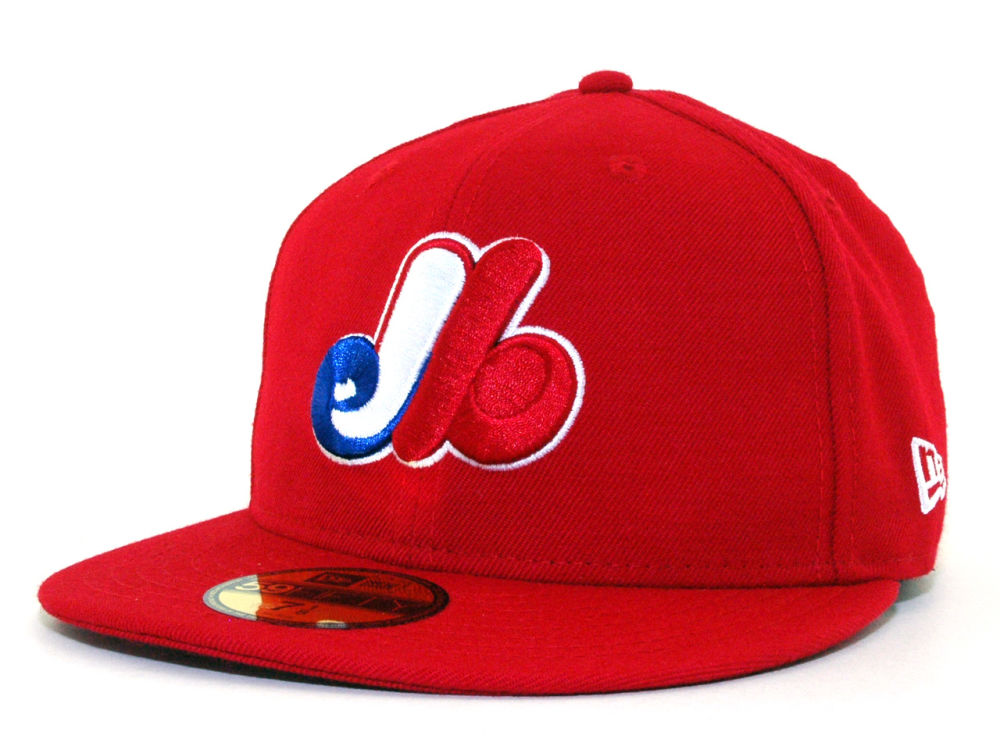 127a3016e3302 Montreal Expos New Era MLB Cooperstown 59FIFTY Cap