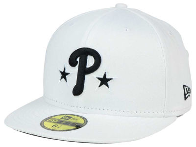 Philadelphia Phillies New Era MLB White And Black 59FIFTY Cap