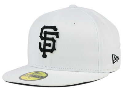 San Francisco Giants New Era MLB White And Black 59FIFTY Cap