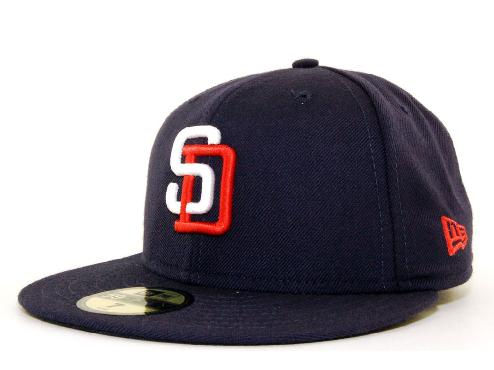 best website b675c f87a6 ... get san diego padres new era mlb cooperstown 59fifty cap b3af2 36df9