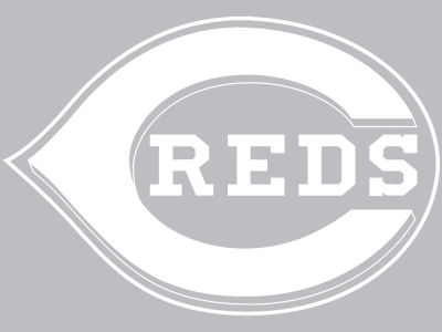 "Cincinnati Reds Die Cut Decal 8""x8"""